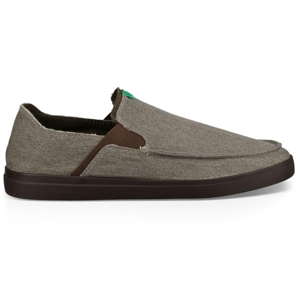 SANUK Men's Pick Pocket Slip On Sneakers - BNDL-BRINDLE