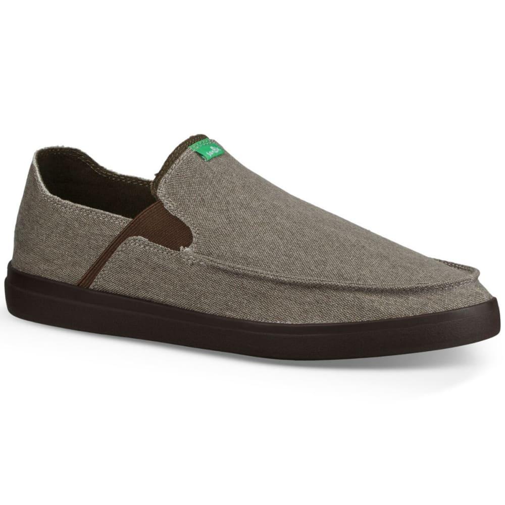 SANUK Men's Pick Pocket Slip On Sneakers 8