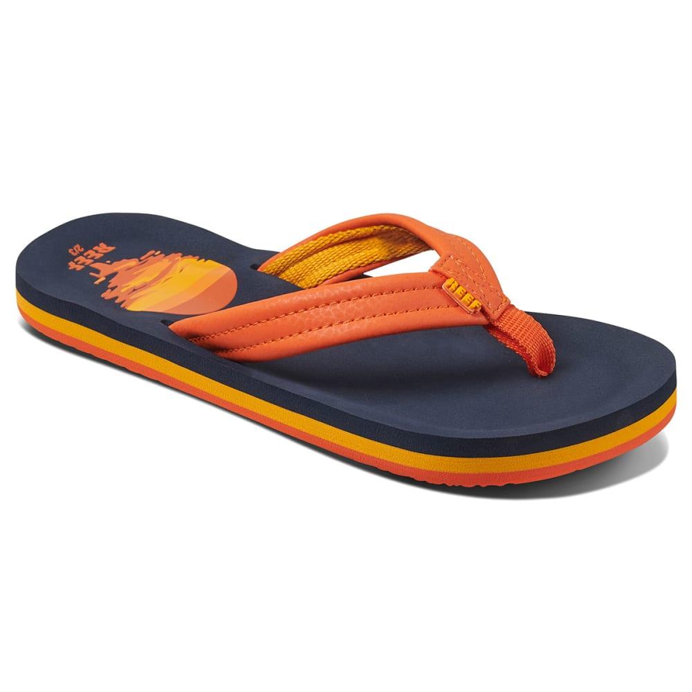 REEF Boys' Ahi Sunset Flip Flops 4/5