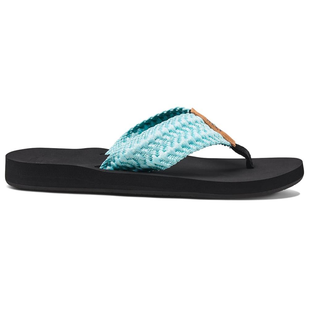 REEF Women's Cushion Threads Sandal - AQUA
