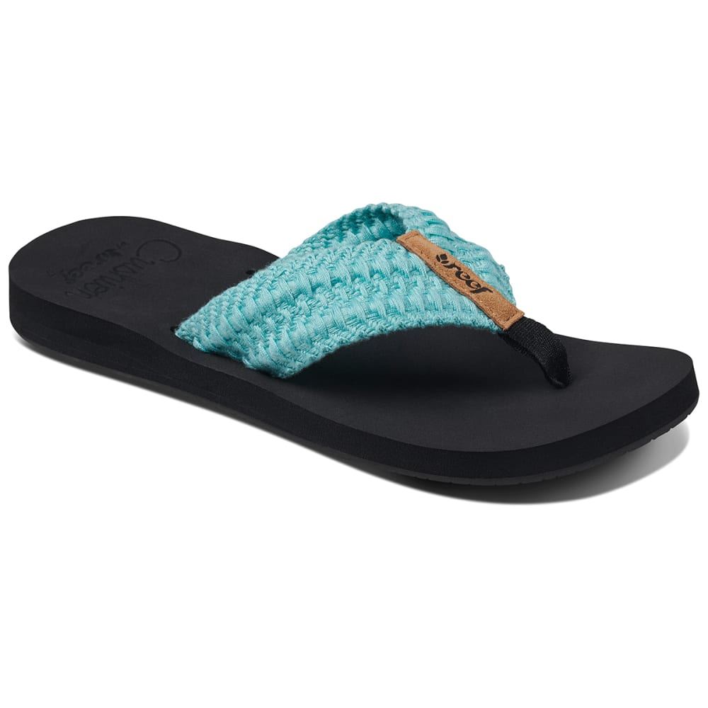 REEF Women's Cushion Threads Sandal - AQUA