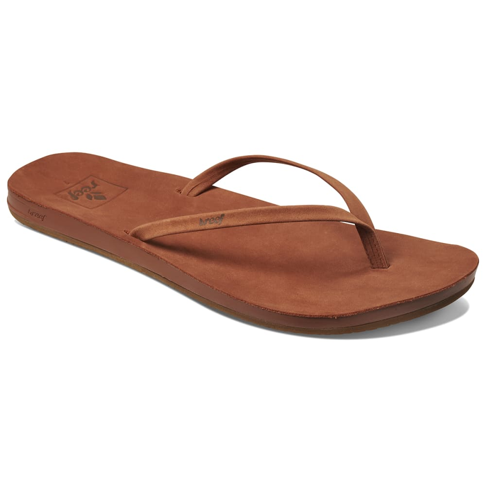 REEF Women's Cushion Bounce Flip Flops - COCOA