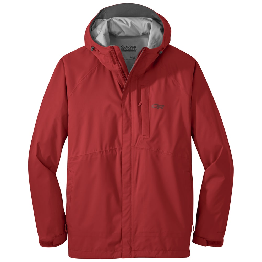 OUTDOOR RESEARCH Men's Guardian Jacket - TOMATO
