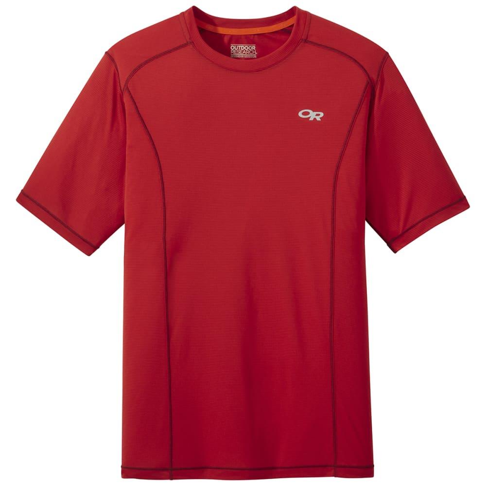 OUTDOOR RESEARCH Men's Short-Sleeve Echo Tee - 1292 TOMATO