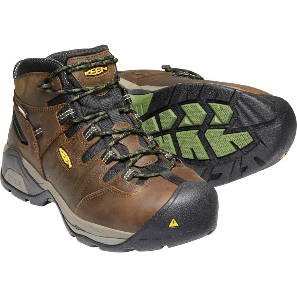 4177eca4ed2 KEEN Men's Detroit XT Mid Steel Toe Waterproof Work Boots