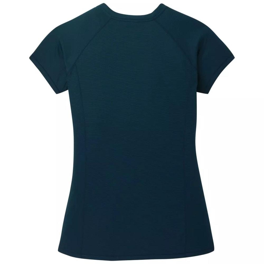 OUTDOOR RESEARCH Women's Echo Short-Sleeve Tee - PRUSSIAN BLUE - 1566
