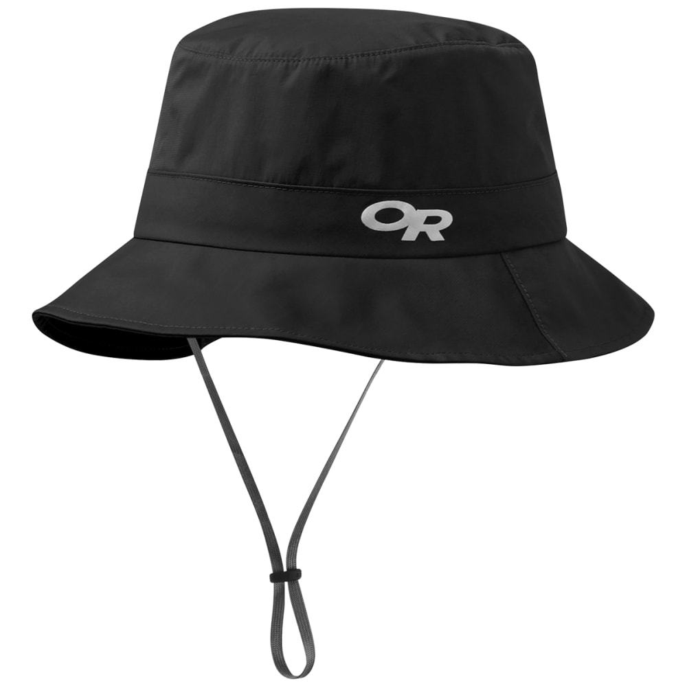 OUTDOOR RESEARCH Interstellar Rain Bucket Hat - BLACK