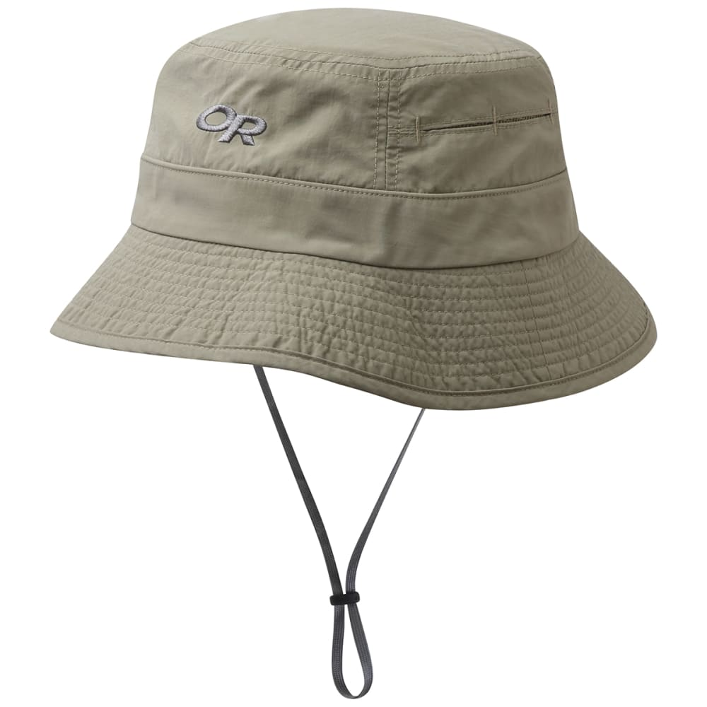 OUTDOOR RESEARCH Men's Bugout Sombriolet Sun Bucket Hat - 0800 KHAKI