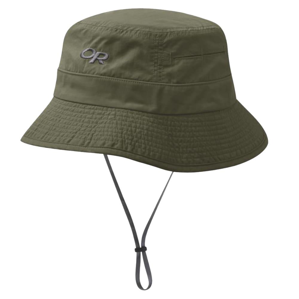 f9b51eb9849e95 OUTDOOR RESEARCH Men's Bugout Sombriolet Sun Bucket Hat - 0740 FATIGUE