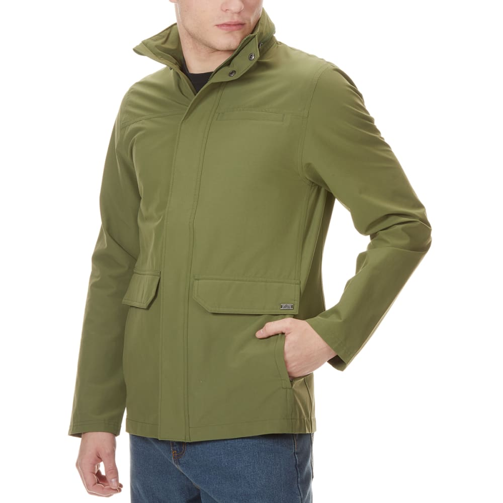 EMS Men's Compass Utility Jacket - WINTER MOSS