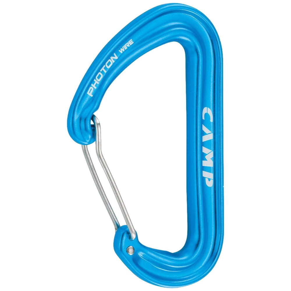 CAMP USA Photon Wire Carabiner - BLUE