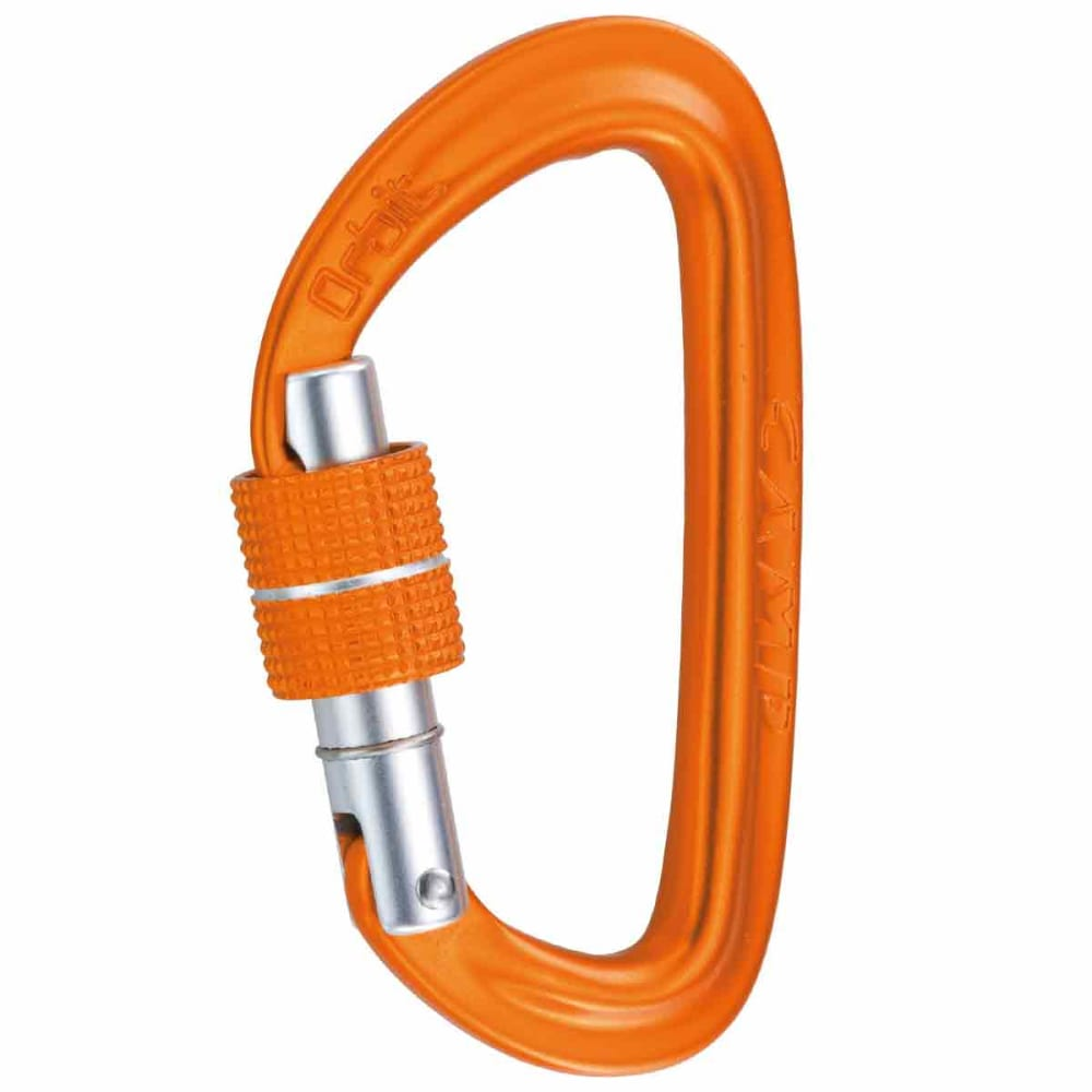 CAMP Oribit Lock, 3-Pack - ORANGE