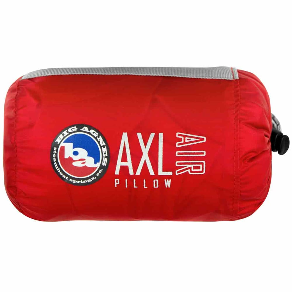 BIG AGNES AXL Backpacking Air Pillow - RED