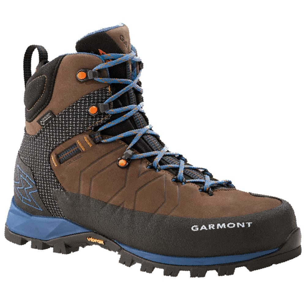 GARMONT Men's Toubkal GTX Hiking Boot - DK BROWN/BLUE 211