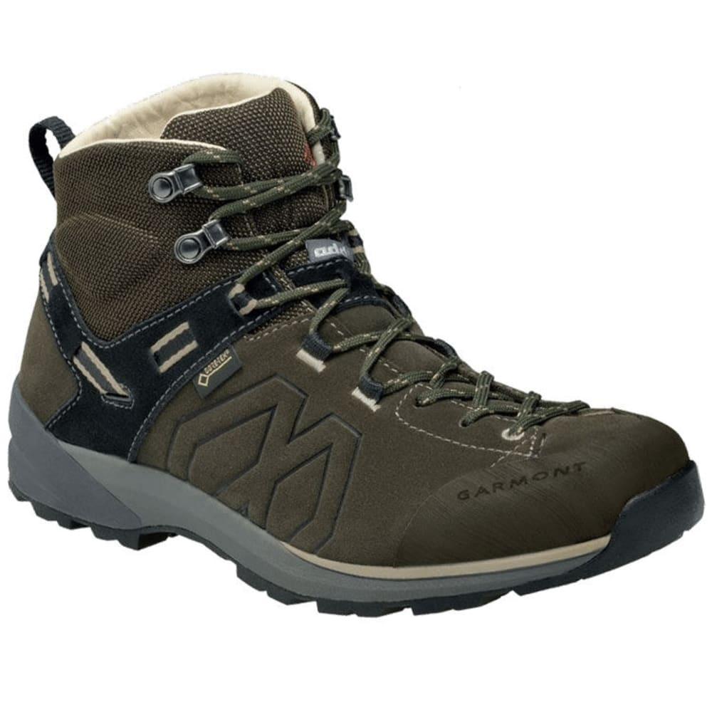GARMONT Men's Santiago GTX Mid Hiking Boots - OLIVE GR/BEIGE 211