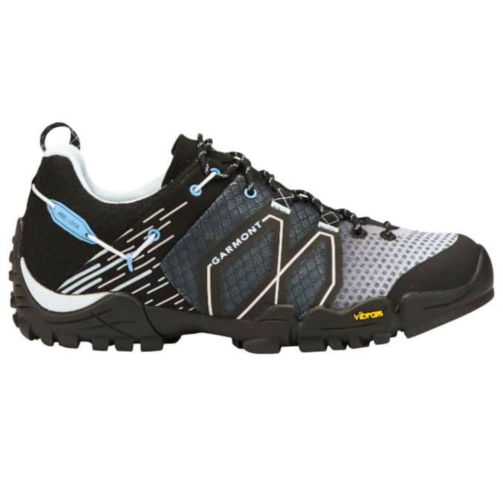 GARMONT Women's Sticky Cloud Approach Hiking Shoes - BLK/BLUE 604