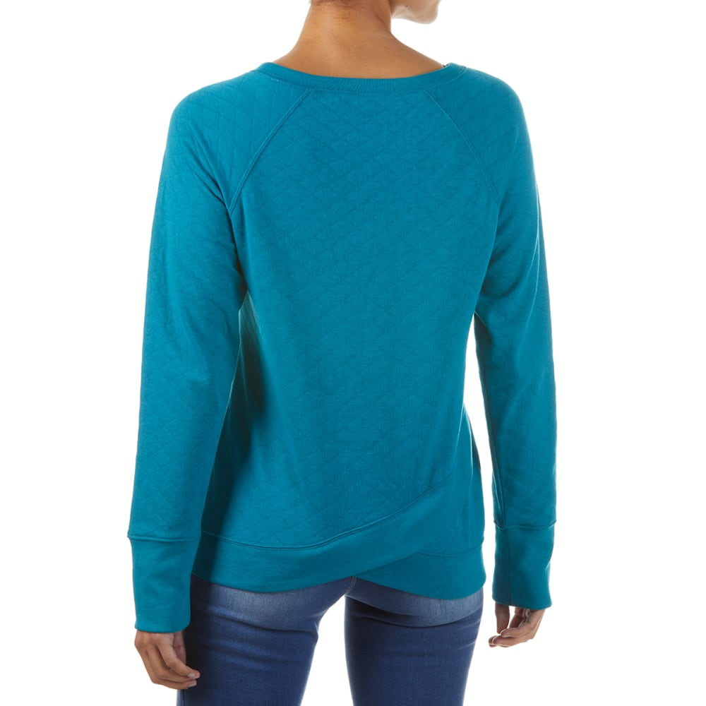 EMS Women's Summer Canyon Quilted Pullover - OCEAN DEPTHS