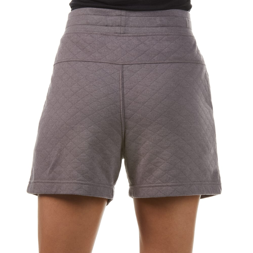 EMS Women's Summer Canyon Quilted Knit Shorts - RABBIT