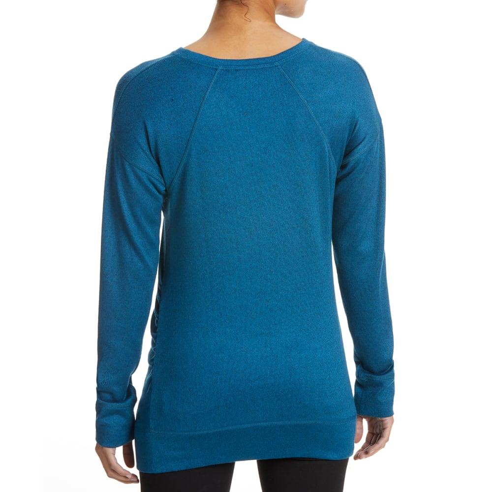 EMS Women's Cochituate Long-Sleeve Wrap - MOROCCAN BLUE