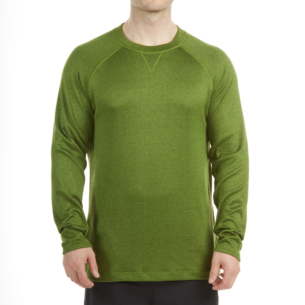 EMS Men's Cochituate Long-Sleeve Shirt - TWIST OF LIME