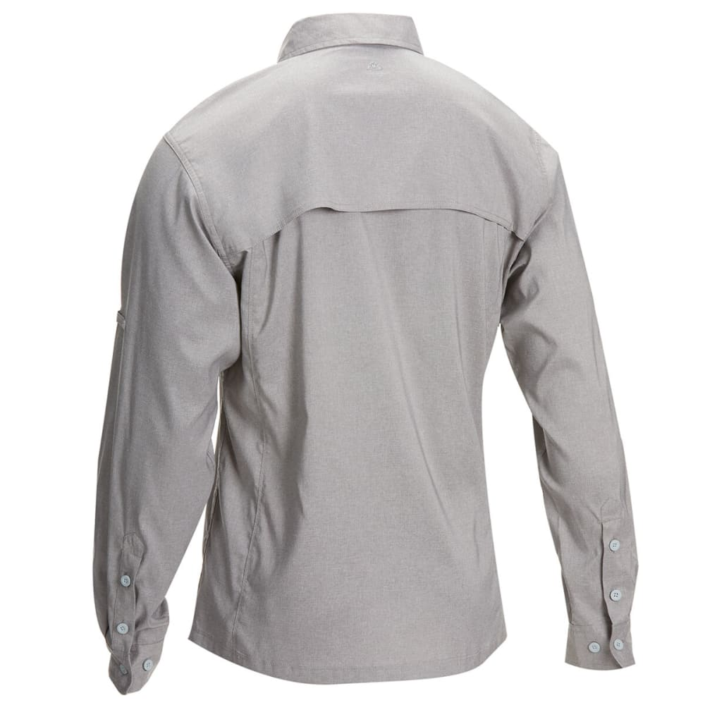 EMS Men's Ventilator Long-Sleeve Shirt - SILVER FILIGREE