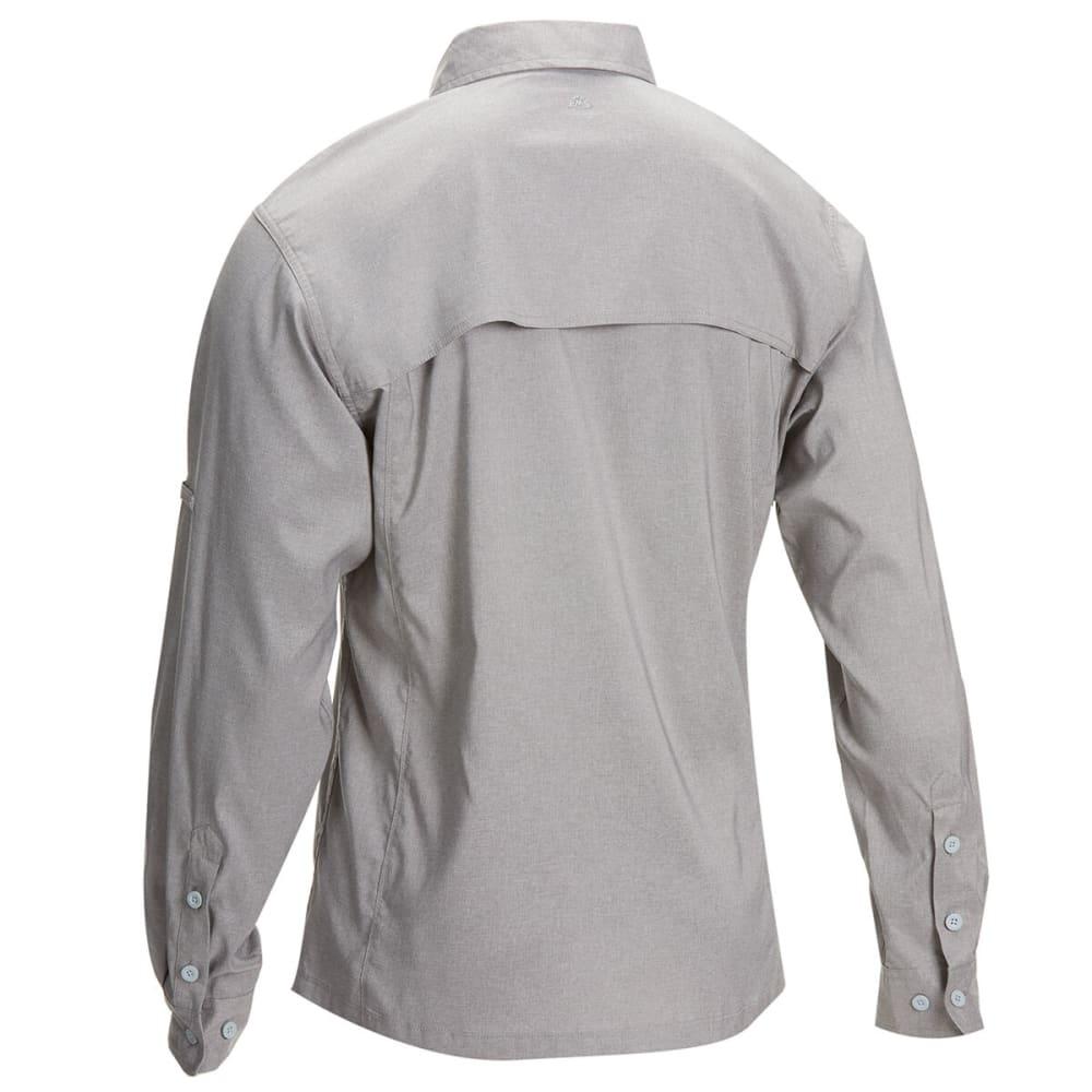 EMS Men's Ventilator Long-Sleeve Shirt - SILVER FILIGREE