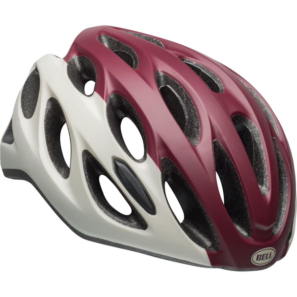 BELL Women's Tempo Cycling Helmet - MAROON/SLATE/SAND