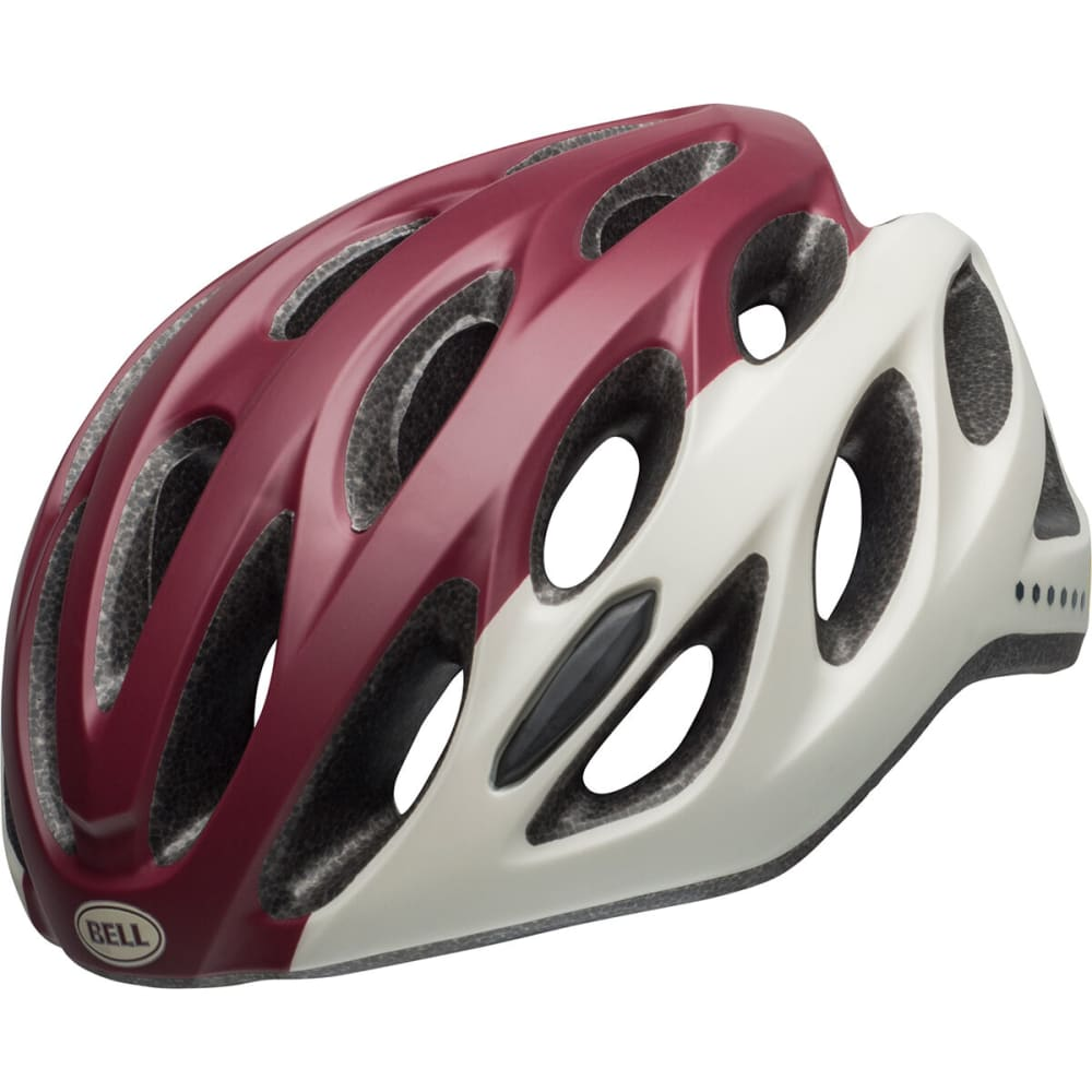 BELL Women's Tempo Cycling Helmet - MAROON/SLATE/SAND