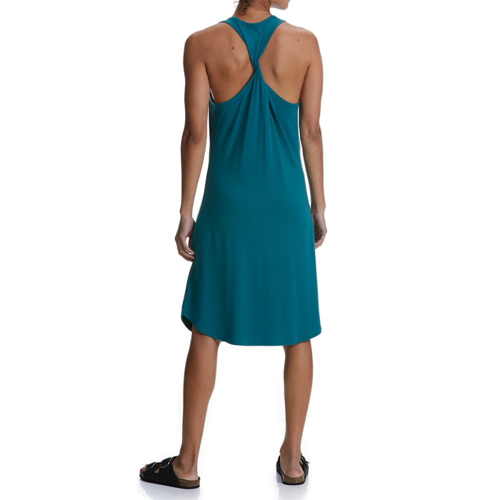 EMS Women's Highland Twist Back Dress - PACIFIC