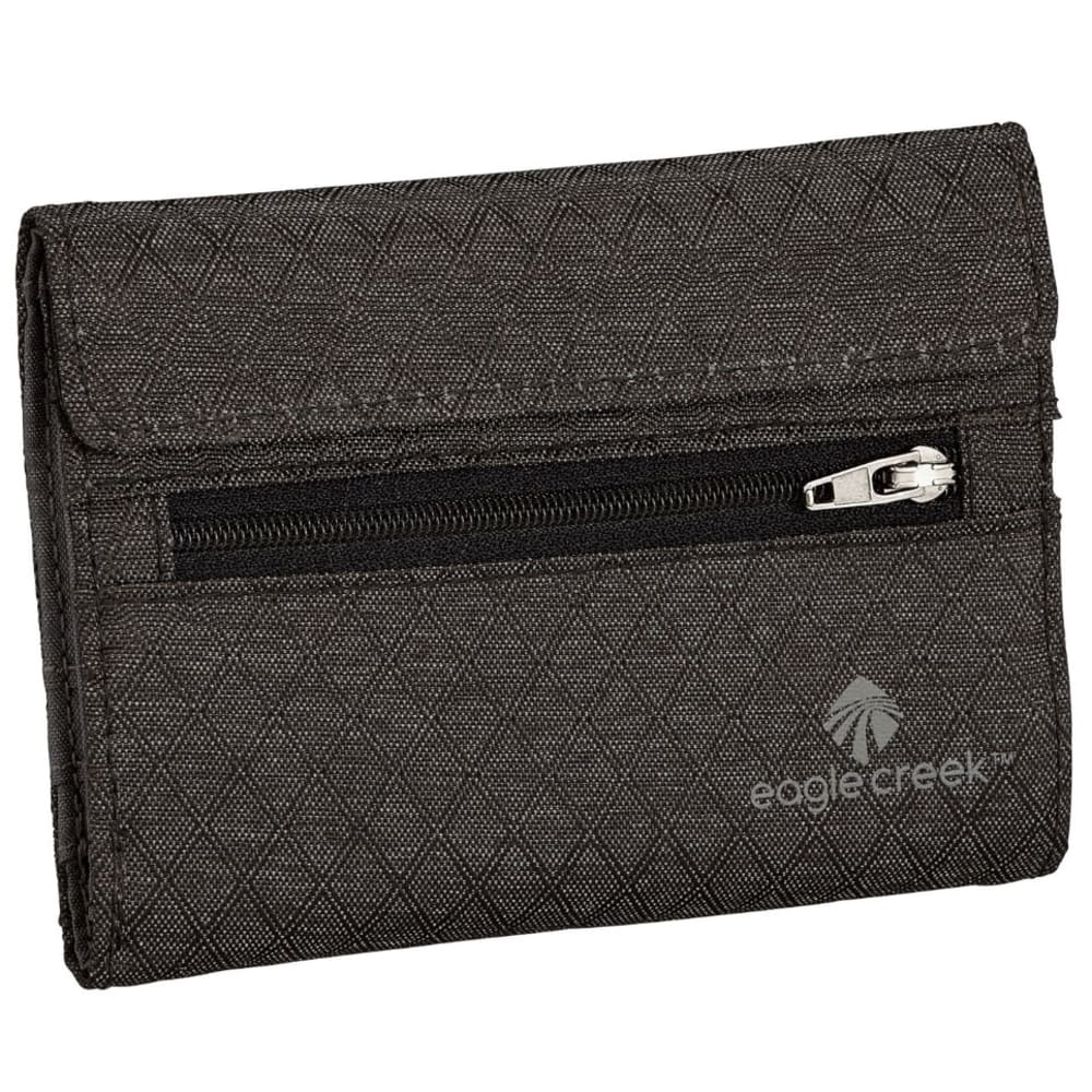 EAGLE CREEK RFID International Tri-Fold Wallet - BLACK