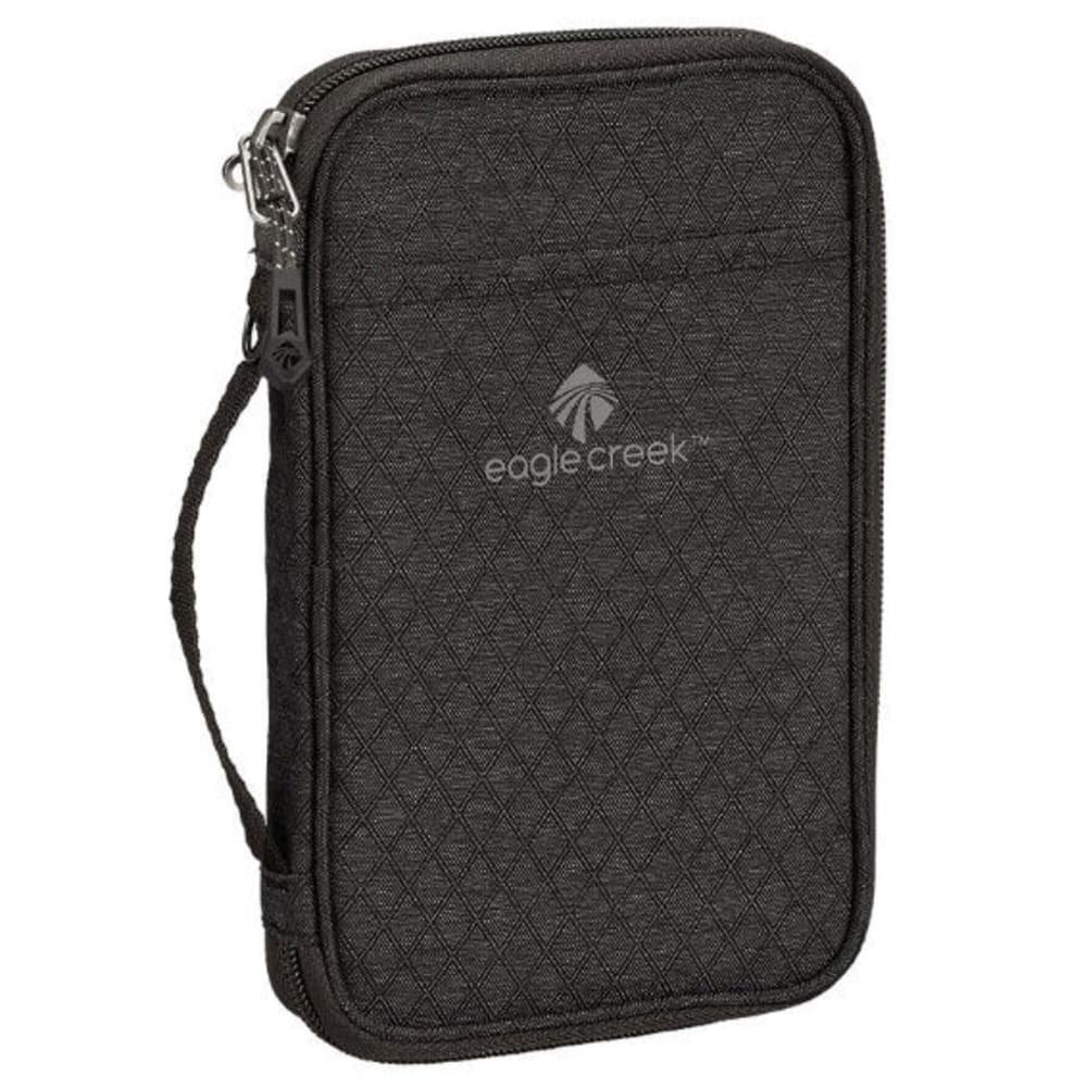 EAGLE CREEK RFID Travel Zip Organizer - BLACK