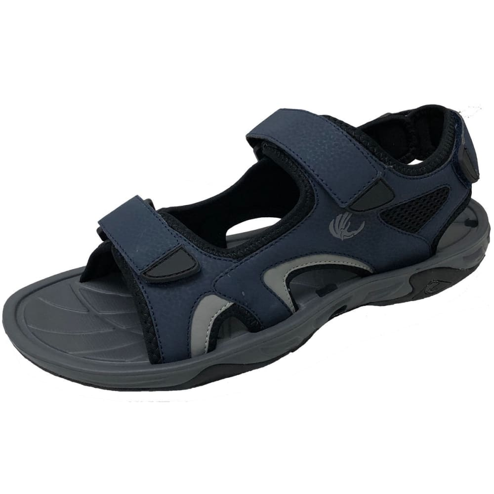 ISLAND LIFE SURF COMPANY Men's Yarmouth River Sandals - NAVY-NVY