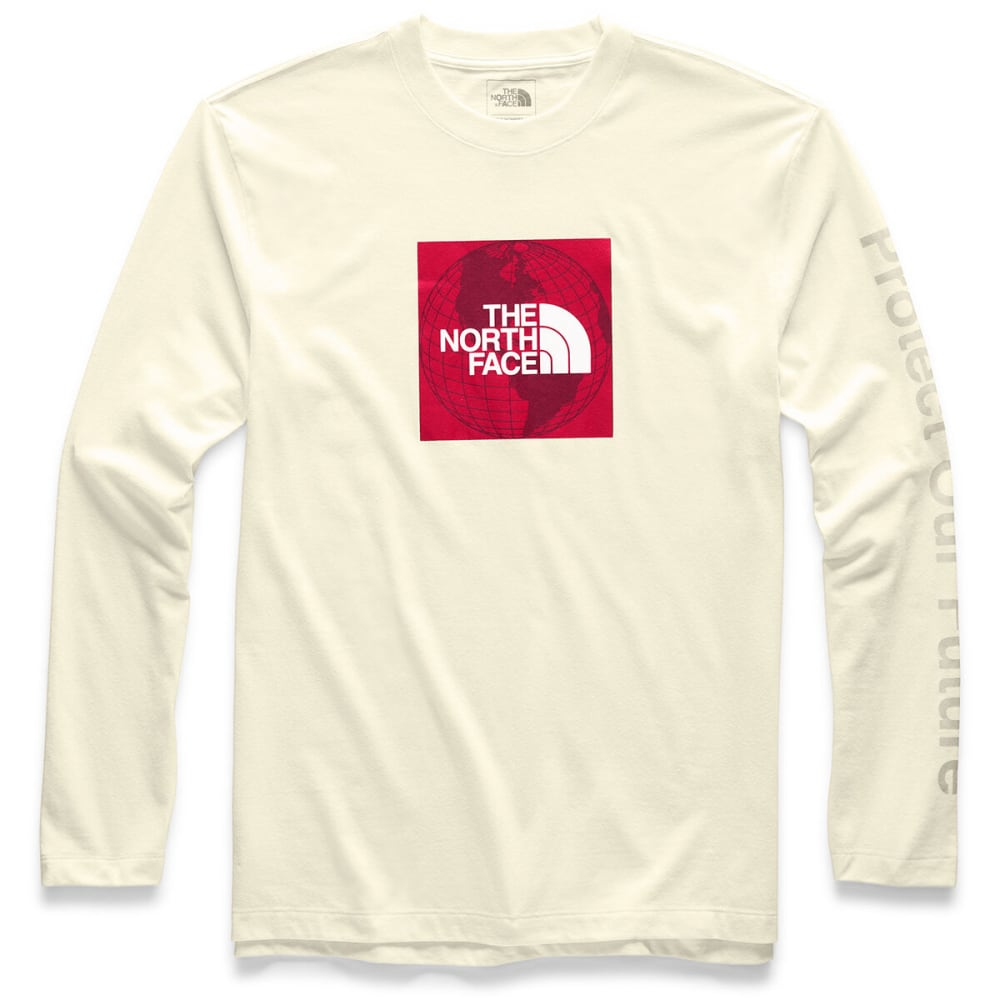 THE NORTH FACE Men's Recycle Material Long-Sleeve Tee - F72 VINTAGE WTE HTR
