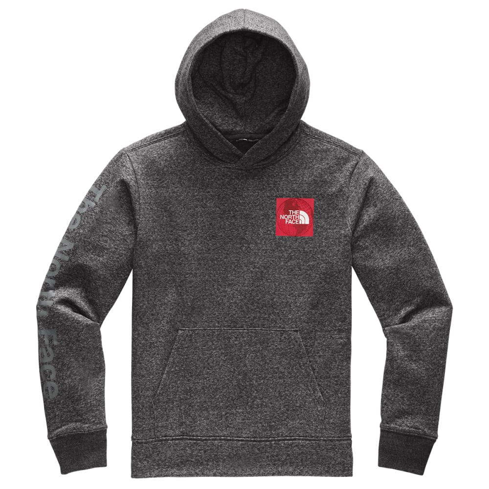 THE NORTH FACE Men's Recycled Material Pullover Hoodie - MGM TNF GREY HEATHER