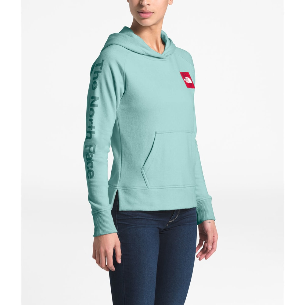 THE NORTH FACE Women's Long-Sleeve Recycled Material Pullover Hoodie - FC3 WINDMILL BL HTR