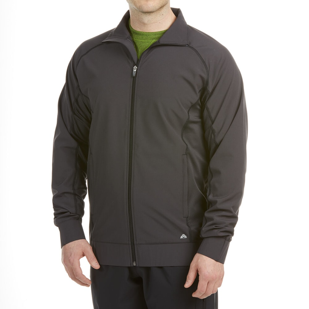 EMS Men's Allegro Active Bomber Jacket - OBSIDIAN