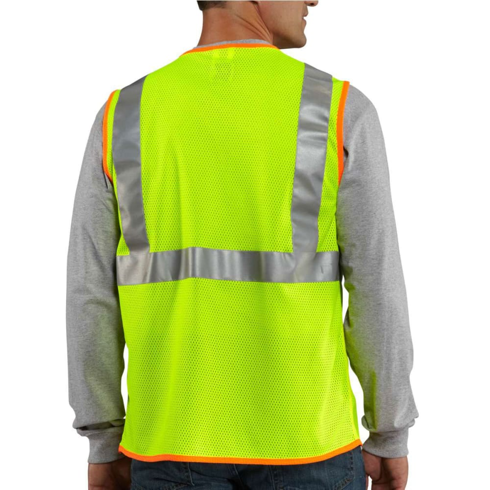 CARHARTT Men's High Visibility Class 2 Vest - BRT LIME 323
