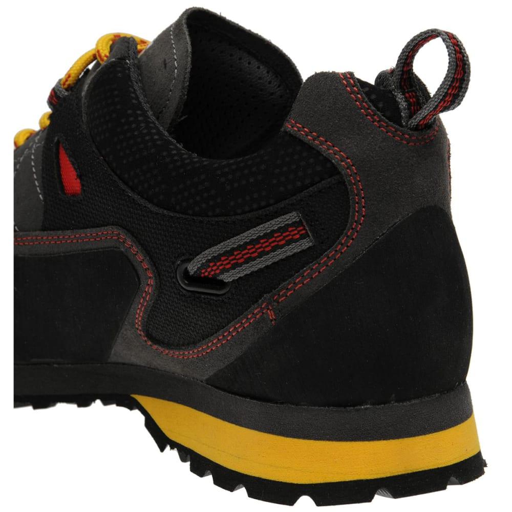 KARRIMOR Men's Hot Crag Low Hiking Shoes - CHARCOAL/YELLOW