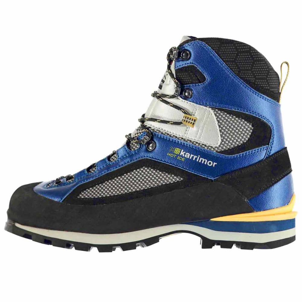 KARRIMOR Men's Hot Ice Mountain Waterproof Mid Boots - BLUE