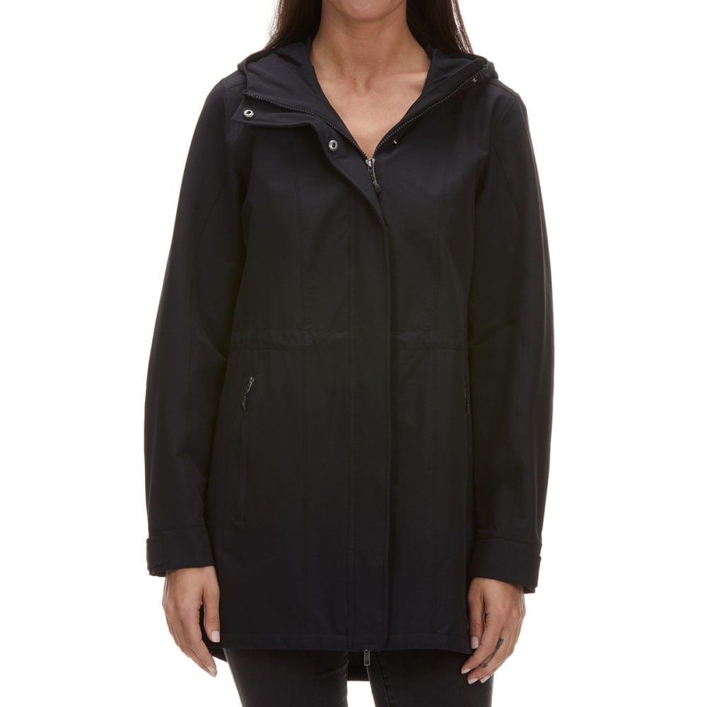 EMS Women's Compass Rain Trench Jacket - ANTHRACITE
