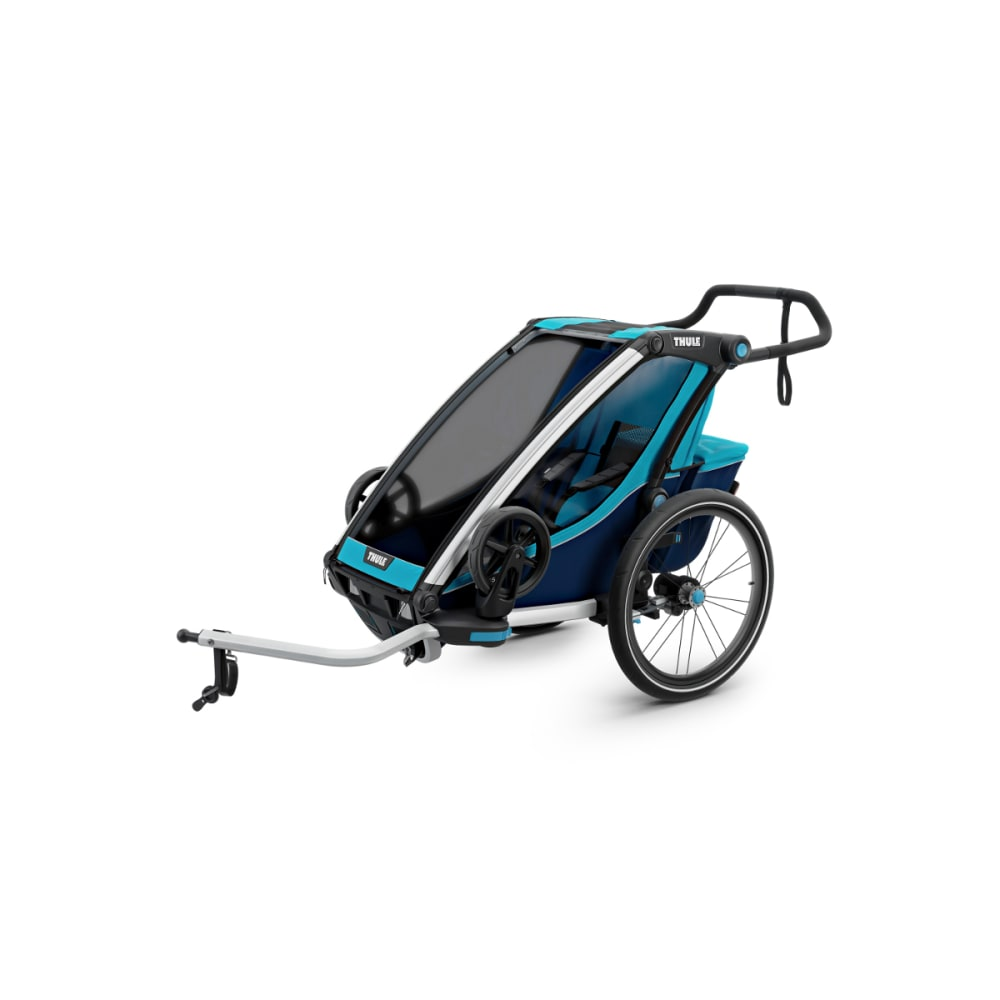 THULE Chariot Cross 1 Bike Trailer - BLUE