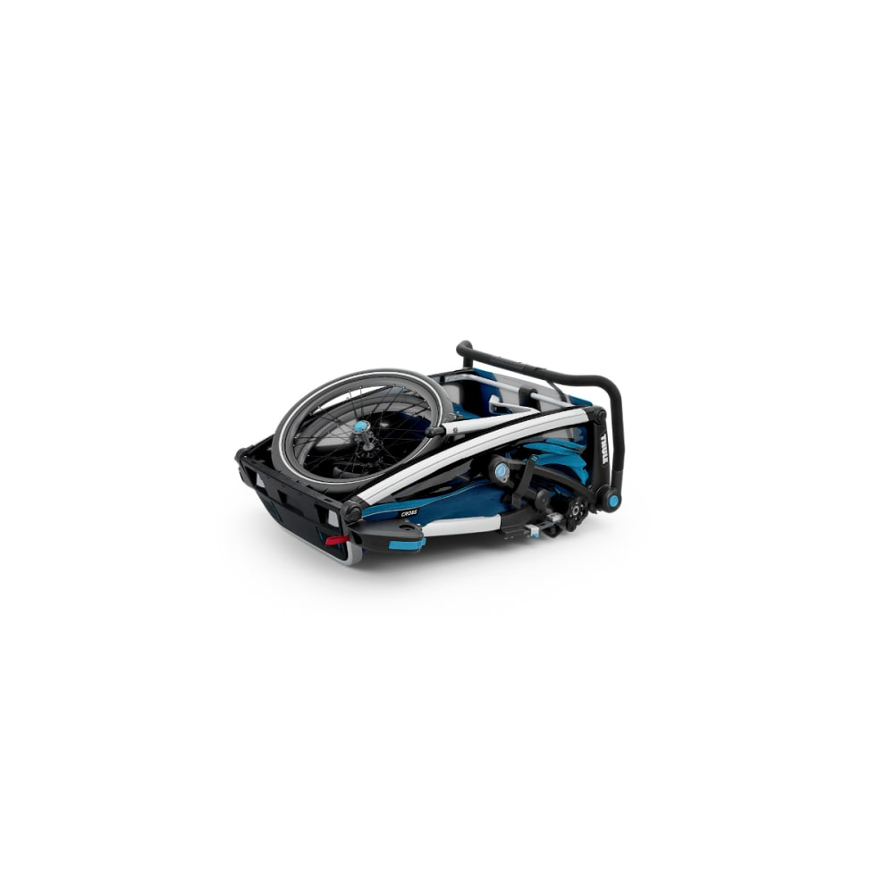 THULE Chariot Cross 2 Bike Trailer - BLUE