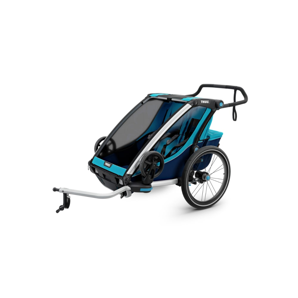 THULE Chariot Cross 2 Bike Trailer - BLUE