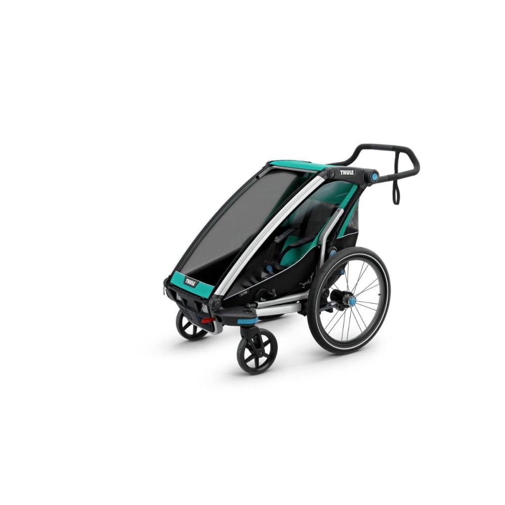 THULE Chariot Lite 1 Multisport Bike Trailer - BLUEGRASS