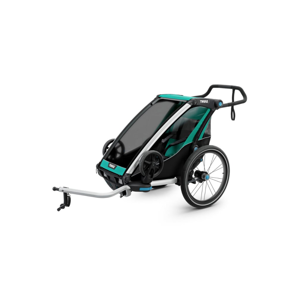 THULE Chariot Lite 1 Multisport Bike Trailer - BLUEGRASS