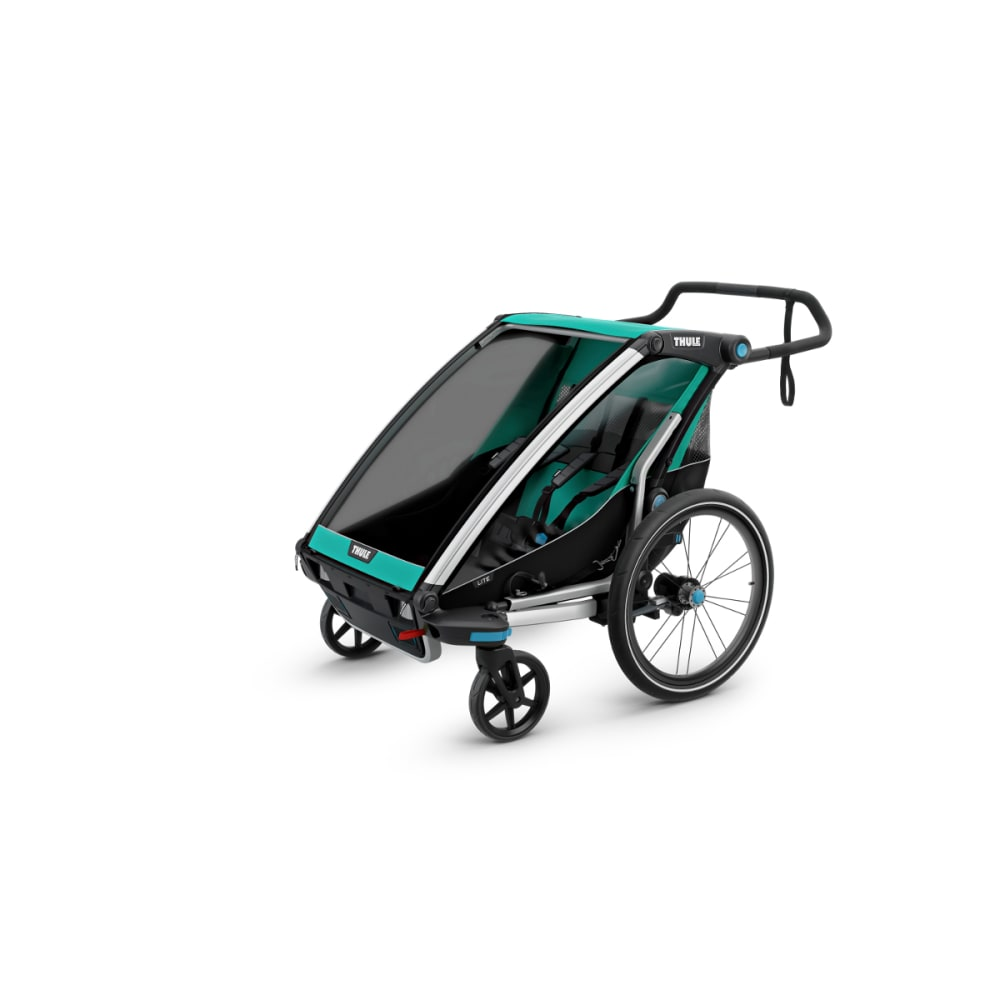 THULE Chariot Lite 2 Multisport Bike Trailer - BLUEGRASS