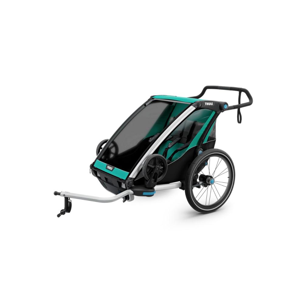 THULE Chariot Lite 2 Multisport Bike Trailer - BLUEGRASS