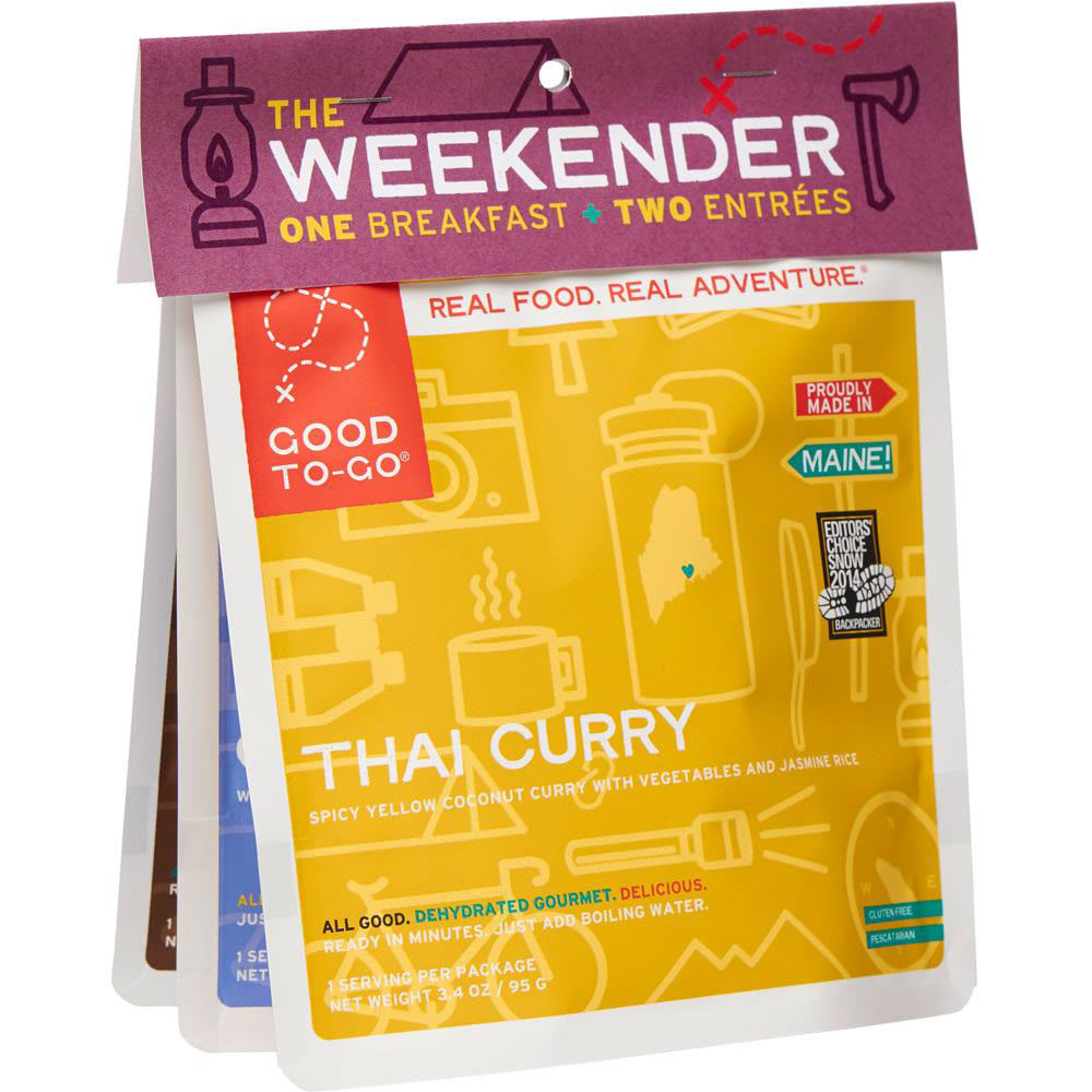 GOOD TO-GO The Weekender Variety Pack #1 ONESIZE
