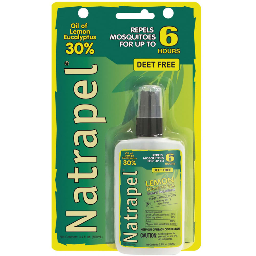 ADVENTURE MEDICAL Natrapel Lemon Eucalyptus Pump, 3.4 oz. NO SIZE