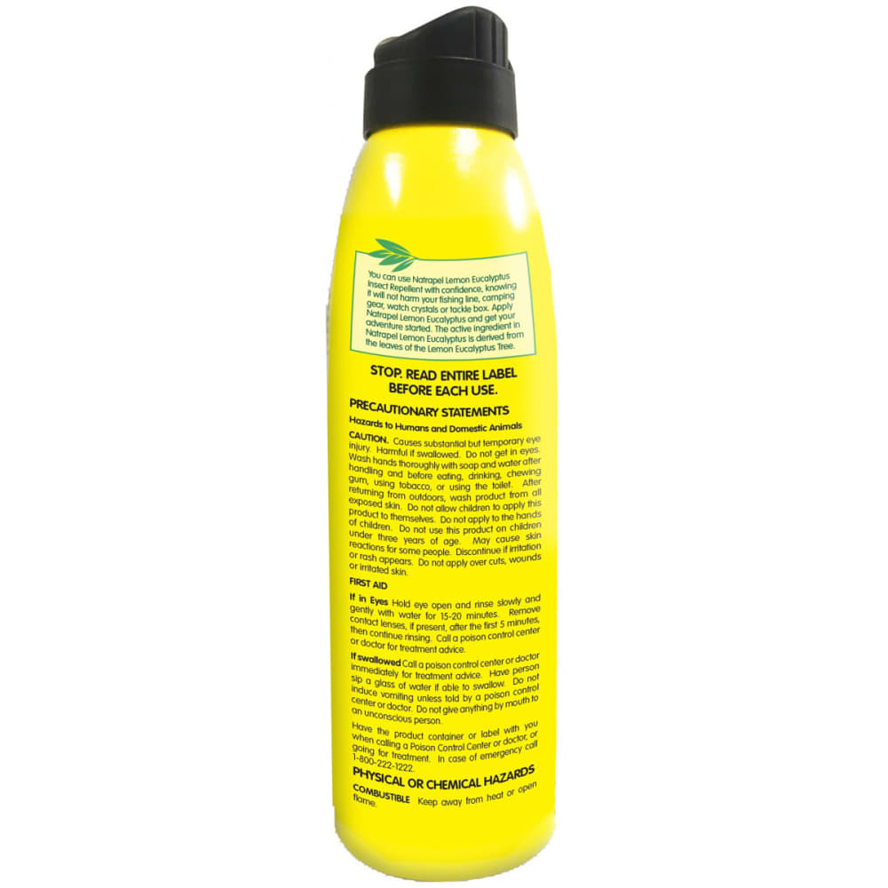 ADVENTURE MEDICAL Natrapel Lemon Eucalyptus Spray, 6 oz. - NO COLOR